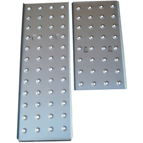 Steel plates 2pcs for FZZ 4007 / FZZ 4107